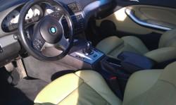 BMW M3 bőrtisztítás