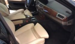 BMW 730D bőrfestés