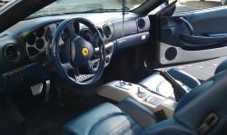 Ferrari 360 ülésfestés