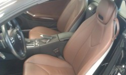 Mercedes SLK350 bőrfestés